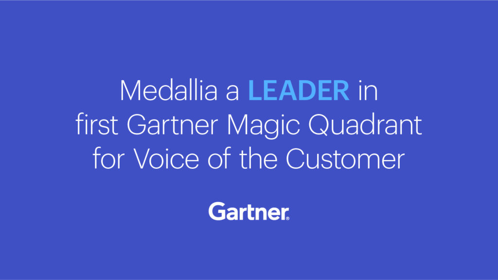 Gartner Magic Quadrant for Voice of the Customer