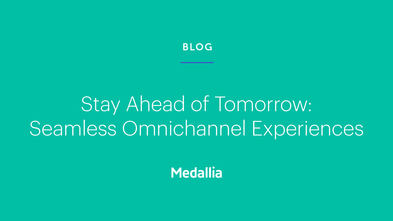 A Seamless Omnichannel Experience